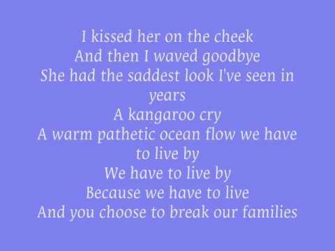 Blue october kangaroo cry lyrics letras testo for 18th floor balcony blue october lyrics