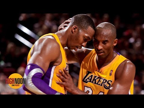 Video: Thanking Kobe for calling you 'soft' won't make him like you - Bomani to Dwight Howard | High Noon