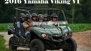 7. Detailed New 2016 Yamaha Viking VI : Responsive and Reliable Ultramatic® Transmission