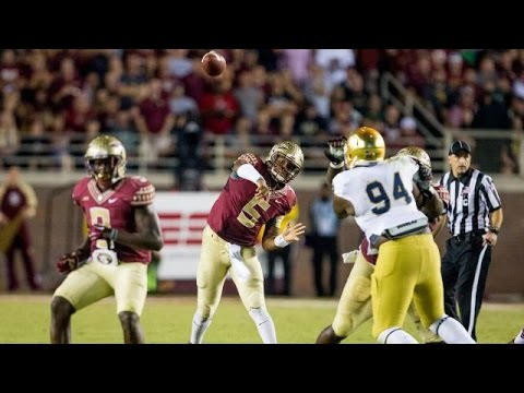 Dame - Courtesy http://www.seminoles.com: Highlights from the Seminoles 31-27 win against Notre Dame.