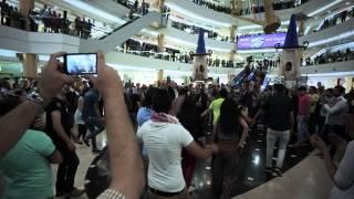 مفاجأة أمنية في ستي مول بمناسبة عيد استقلال الاردن ال 69