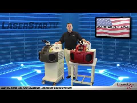 "<h3>Laser Welding - iWeld Product Presentation </h3>In this laser welding video brought to you by <a dir=""ltr"" title=""http://laserstar.net"" href=""http://laserstar.net"" target=""_blank"" rel=""nofollow"">http://laserstar.net</a>, we demonstrate the iWeld and iWeld Professional Laser Welding Systems currently available at LaserStar Technologies.<br /><br />"