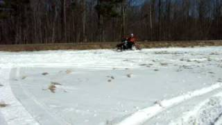 10. 2010 Polaris Rush Wheelie Snow Bank Power Michael Callaghan