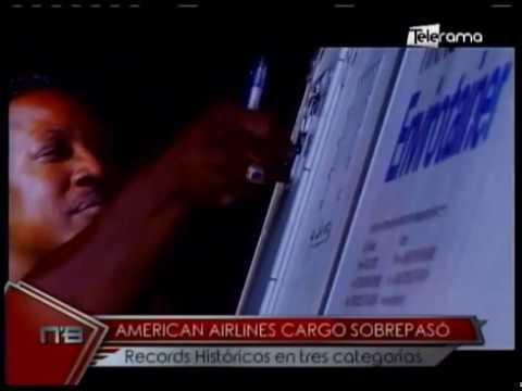 American Airlines Cargo sobrepasó records históricos en tres categorías
