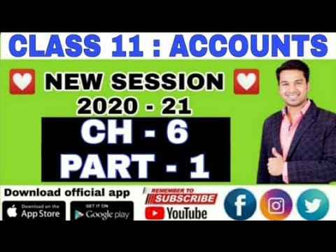 Class 11th Chapter: Rules Of Debit & Credit