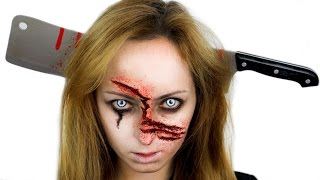 Video Zombie Makeup & Claw Wounds for Halloween MP3, 3GP, MP4, WEBM, AVI, FLV April 2018
