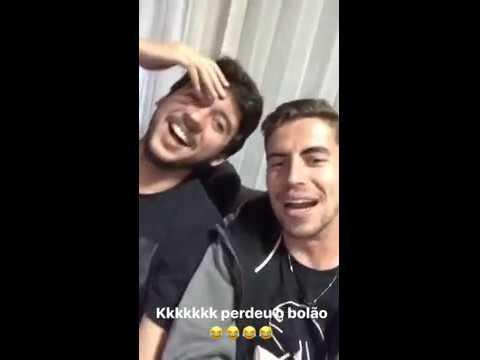 Jorginho canta, suona e festeggia il Real!