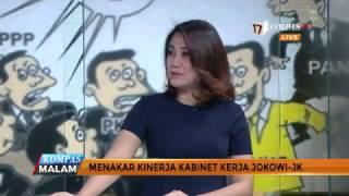 Sekretaris Jenderal Kementerian Perdagangan, Karyanto Suprih dan Peneliti Senior CSIS, J Kristiadi akan memberi konklusi tentang sinyal perombakan yang dilakukan oleh Presiden Jokowi dan bagaimana menakar kinerja kabiner kerja Jokowi–JK.