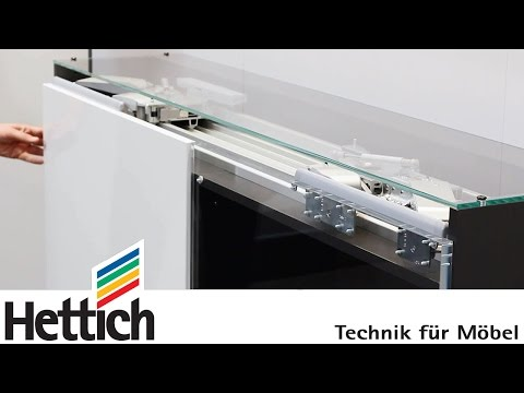 InLine XL sliding doors: technical briefing by Hettich
