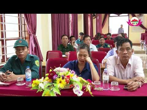 Xã Nghĩa Xuân bồi dưỡng kiến thức QP-AN cho đối tượng 4 năm 2020