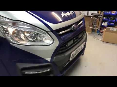 Ford Transit Custom, Audio, Video And Lighting Upgrade.