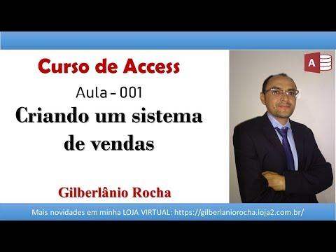 access - Nesse vídeo estou iniciando a construção de um sistema de vendas em Access 2010. Esse primeira parte aborda a criação do arquivo e das tabelas dos sistema. S...