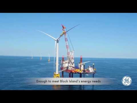 GE equipped Deepwater Wind's Block Island, America's first Offshore Wind Farm