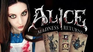 ALICE MADNESS RETURNS - Caracterización (makeup) - YouTube