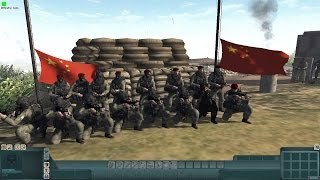 A group of highly trained PLA (Peoples Liberation Army) special forces troops have been amphibiously landed into Taiwan their task is to take out a key commu...