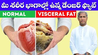 How Can Reduce Visceral Fat ?   ( Hidden Fat )   Dr Manthena Satyanarayana Raju Videos