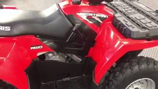 9. 2009 Polaris sportsman 500 HO excellent
