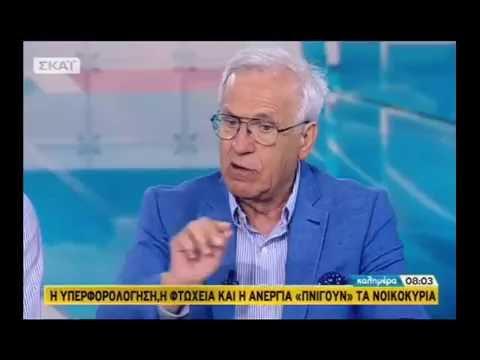 Γ. Χριστόπουλος στο ΣΚΑΪ (Λουκέτα – φοροδιαφυγή)
