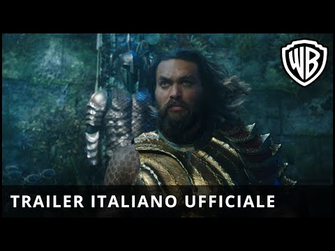 Preview Trailer Aquaman, trailer italiano ufficiale