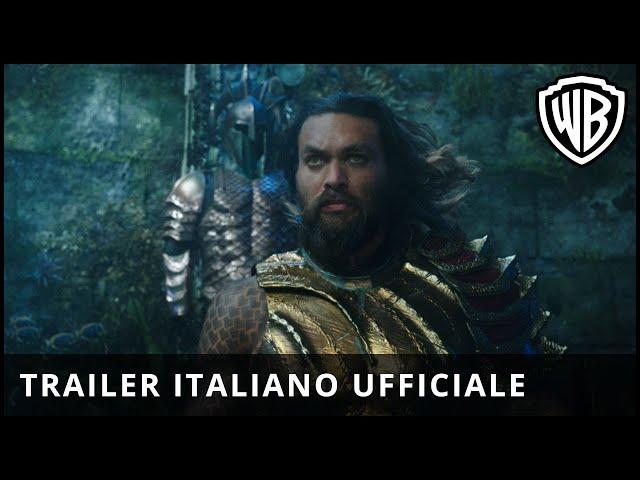 Anteprima Immagine Trailer Aquaman, trailer italiano ufficiale