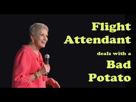 flight attendant jumps - Jeanne is on Sirius & XM Radio this clip is from Jeanne's new DVD Just for Fun! Jeanne's official website http://www.jeannerobertson.com SEE Jeanne Live http...