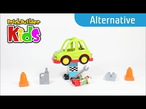 Vidéo LEGO Duplo 10589 : La voiture de rallye