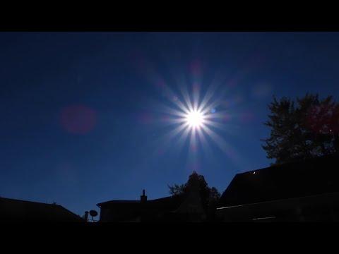 Faint Sunspots & a Relook at Last Nights Flyby_A héten feltöltött legjobb nap videók