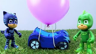 Kids toys videos & toy cars videos with PJ Masks and toy cars on #toyschannel. PJ masks toys Gekko, Owlette and Cat boy make hot air balloon 🎈 for PJ Masks cat car 🚗 Play with the PJ masks and watch new PJ masks toy videos on #TToyZZ!Find us in VK https://vk.com/kidsfirsttvFacebook https://www.facebook.com/KidsFirstTVand https://www.facebook.com/KapukiKanukiWelcome to the #ttoyzz channel! Play with #toysforboys and #toysforgirls. Watch #toyschannel with differents toys: #tayolittlebus toys, #legotoys and other toys for boys and girls.Subscribe here https://www.youtube.com/c/TToyzz and play with toys!Tayo the little bus English cartoon for kids and find Tayo English stories here https://www.youtube.com/watch?v=AecrvXLwZJc&list=PLcydIP1OHtnyY9-qObw5Y-i64bkOlovli