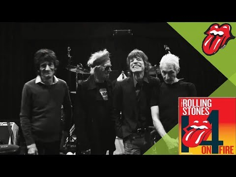 The Rolling Stones Rehearsing For Their Paris Concerts