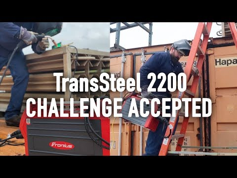 Fronius TransSteel2200 Review and Challenge