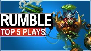 Top 5 pha xử lý highlight Rumble cực hay của các game thủ chuyên nghiệp tại các giải đấu