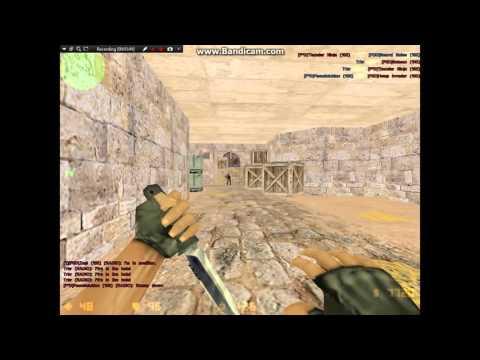 Counter Strike 1.3 - Gameplay - de_dust2 - Trbr (HD) 1/3