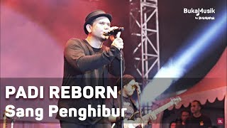 Video Padi Reborn -  Sang Penghibur (Live at IIMS 2018 - with Lyrics) | BukaMusik MP3, 3GP, MP4, WEBM, AVI, FLV April 2019
