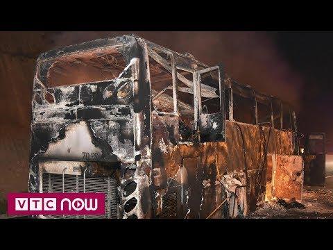 Thái Lan: Cháy xe bus, 20 người Myanmar thiệt mạng | VTC1 - Thời lượng: 28 giây.