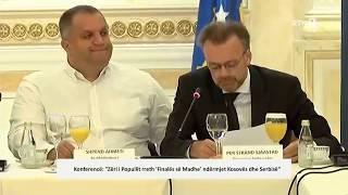 Konferencë: ``Zëri i Popullit rreth `Finales së madhe` ndërmjet Kosovës dhe Serbisë``