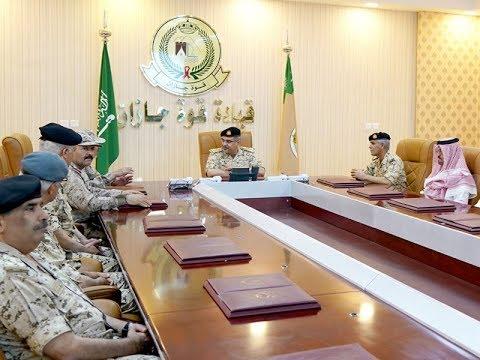 سمو ولي العهد يلتقي مجموعتي قوات الواجب المشاركة بالتحالف العربي في جازان والطائف