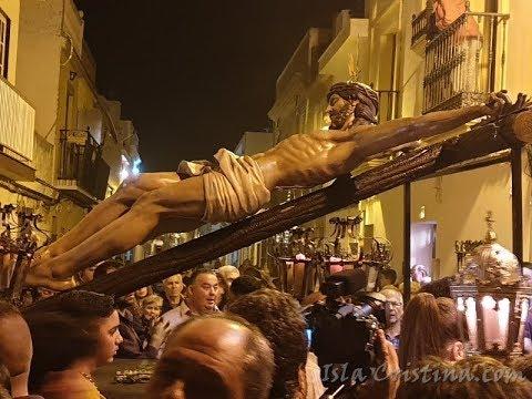 Vía Crucis Cristo de la Buena Muerte «Isla Cristina) acompañado por la Legión.