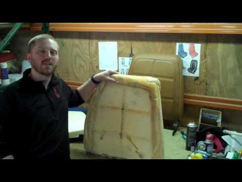 Tips - Seat Foam, Original vs New