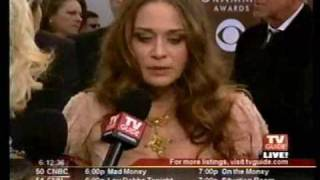 Fiona Apple, 2005 Grammy Awards - red carpet interviews and on E! fashion police