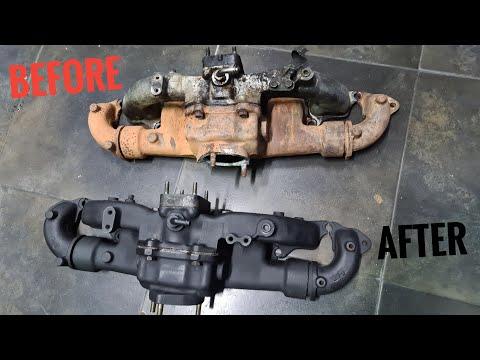 Toyota Land Cruiser Manifold Restoration