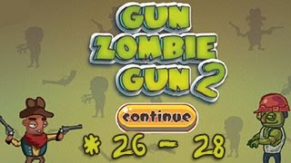 Please Subscribe for more videos ► http://goo.gl/eZTlA1Play Game:http://playneed.com/2015/06/29/gun-zombie-gun-2.htmlGame description:You are a cowboy.Your mission is to kill all the zombies in your place.We will give the stars to you as a reward.Good luck!