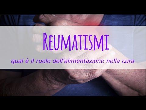 curare i reumatismi attraverso l'alimentazione