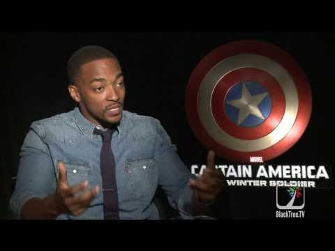 Capt. America: The Winter Soldier interview w/ 'Falcon' Anthony Mackie