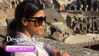 #DAelReality: Francisca Lachapel y el viaje de sus sueños a Italia