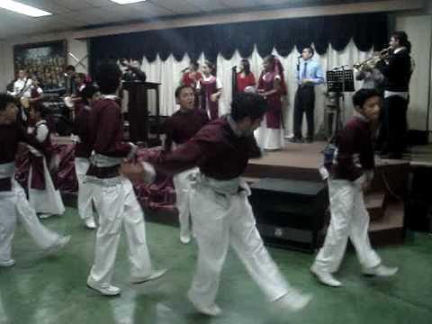 Danza de Varones Juda Iglesia Rhema Ministerios Ebenezer