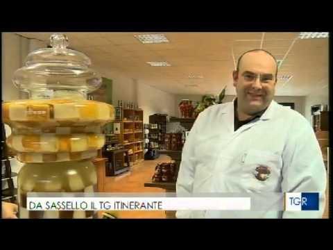 Sassello e L'Artigiana del fungo a TG3 Liguria