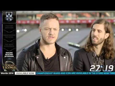 streaming - Imagine Dragons interview about them playing League, streaming with Krepo etc | S4 Worlds. Imagine Dragons singing Warriors live in the opening ceremony: htt...