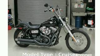 10. 2013 Harley-Davidson Dyna Wide Glide -  Specs Features Top Speed superbike Transmission - tarohan
