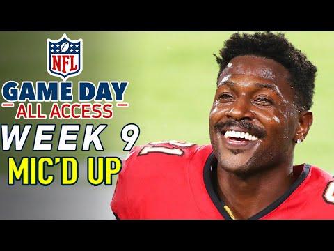"NFL Week 9 Mic'd Up! ""Oh, he has a leg?"" | Game Day All Access 2020"