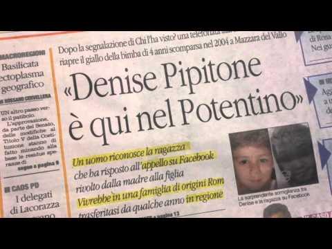 incredibile svolta nel caso denis pipitone, forse è in basilicata!